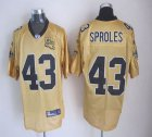 Cheap Saints #43 Darren Sproles Gold Stitched NFL Jersey