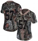 Cheap Nike Bills #57 A.J. Epenesas Camo Women's Stitched NFL Limited Rush Realtree Jersey