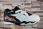 Cheap Air Jordan 8 Low Three Peat White/Black-Blue-Infrared-Yellow
