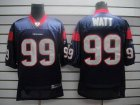 Cheap Texans #99 J.J.Watt Blue Stitched NFL Jersey