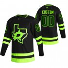 Cheap Dallas Stars Custom Black Men's Adidas 2020-21 Alternate Authentic Player NHL Jersey