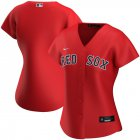 Cheap Boston Red Sox Nike Women's Alternate 2020 MLB Team Jersey Red