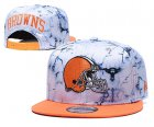 Cheap Browns Team Logo Smoke Cream Adjustable Hat TX