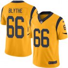Cheap Nike Rams #66 Austin Blythe Gold Youth Stitched NFL Limited Rush Jersey