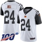 Cheap Nike Bengals #24 Vonn Bell White Youth Stitched NFL Limited Rush 100th Season Jersey