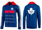 Cheap NHL Toronto Maple Leafs Zip Jackets Blue-4