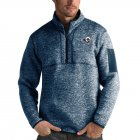 Cheap Calgary Flames Antigua Fortune Quarter-Zip Pullover Jacket Blue