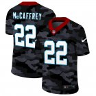 Cheap Carolina Panthers #22 Christian McCaffrey Men's Nike 2020 Black CAMO Vapor Untouchable Limited Stitched NFL Jersey