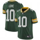 Cheap Youth Green Bay Packers #10 Jordan Love Green Limited Team Color Vapor Untouchable Jersey