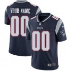 Cheap Nike New England Patriots Customized Navy Blue Team Color Stitched Vapor Untouchable Limited Men's NFL Jersey