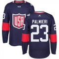 Cheap Team USA #23 Kyle Palmieri Navy Blue 2016 World Cup Stitched NHL Jersey