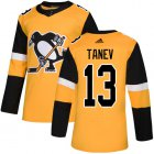 Cheap Adidas Penguins #13 Brandon Tanev Gold Alternate Authentic Stitched NHL Jersey