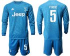 Cheap Juventus #5 Pjanic Third Long Sleeves Soccer Club Jersey
