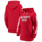 Cheap Cincinnati Reds G-III 4Her by Carl Banks Women's Extra Innings Pullover Hoodie Red