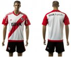 Cheap River Plate Blank Home Soccer Club Jersey