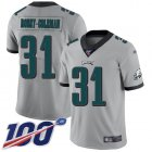 Cheap Nike Eagles #31 Nickell Robey-Coleman Silver Men's Stitched NFL Limited Inverted Legend 100th Season Jersey
