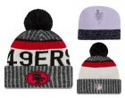 Cheap NFL San Francisco 49ers Logo Stitched Knit Beanies 013