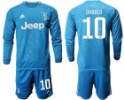 Cheap Juventus #10 Dybala Third Long Sleeves Soccer Club Jersey