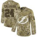 Cheap Adidas Lightning #24 Ryan Callahan Camo Authentic Stitched NHL Jersey