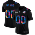 Cheap Miami Dolphins Custom Men's Nike Multi-Color Black 2020 NFL Crucial Catch Vapor Untouchable Limited Jersey