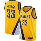 Cheap Pacers #33 Myles Turner Gold Basketball Swingman Statement Edition 2019-2020 Jersey
