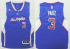 Cheap Los Angeles Clippers #3 Chris Paul 2014 New Blue Kids Jersey