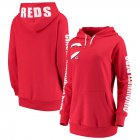 Cheap Cincinnati Reds G-III 4Her by Carl Banks Women's 12th Inning Pullover Hoodie Red