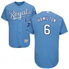 Cheap Royals #6 Billy Hamilton Light Blue Flexbase Authentic Collection Stitched MLB Jersey