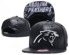 Cheap NFL Carolina Panthers Team Logo Black Snapback Adjustable Hat S001