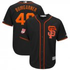 Cheap Giants #40 Madison Bumgarner Black 2019 Spring Training Cool Base Stitched MLB Jersey