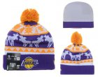 Cheap Los Angeles Lakers Beanies YD002