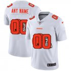 Cheap Nike Cleveland Browns Customized White Team Big Logo Vapor Untouchable Limited Jersey