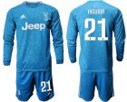 Cheap Juventus #21 Higuain Third Long Sleeves Soccer Club Jersey