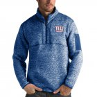 Cheap New York Giants Antigua Fortune Quarter-Zip Pullover Jacket Royal
