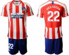 Cheap Atletico Madrid #22 Nico Gaitan Home Soccer Club Jersey