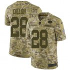 Cheap Nike Packers #28 AJ Dillon Camo Youth Stitched NFL Limited 2018 Salute To Service Jersey