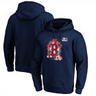 Cheap Boston Red Sox Majestic 2019 London Series Splatter Pullover Hoodie Navy