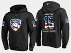 Cheap Panthers #15 John Jakopin NHL Banner Wave Usa Flag Black Hoodie