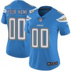 Cheap Nike San Diego Chargers Customized Electric Blue Alternate Stitched Vapor Untouchable Limited Women's NFL Jersey