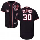 Cheap Nationals #30 Koda Glover Navy Blue Flexbase Authentic Collection Stitched MLB Jersey