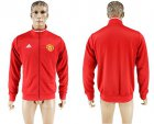Cheap Manchester United Soccer Jackets Red