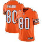 Cheap Nike Bears #80 Jimmy Graham Orange Youth Stitched NFL Limited Rush Jersey