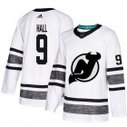 Cheap Adidas Devils #9 Taylor Hall White Authentic 2019 All-Star Stitched Youth NHL Jersey