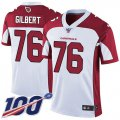 Cheap Nike Cardinals #76 Marcus Gilbert White Men's Stitched NFL 100th Season Vapor Limited Jersey