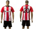 Cheap Athletic Bilbao #20 Aduriz Home Soccer Club Jersey