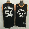 Cheap Men's Toronto Raptors #54 Patrick Patterson Black With Gold New NBA Rev 30 Swingman Jersey
