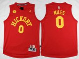 Cheap Men's Indiana Pacers #0 C. J. Miles Revolution 30 Swingman 2015-16 Retro Red Jersey
