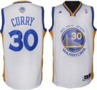 Cheap Golden State Warriors #30 Stephen Curry Revolution 30 Swingman White Jersey