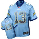 Cheap Nike Chargers #13 Keenan Allen Electric Blue Alternate Men's Stitched NFL Elite Drift Fashion Jersey