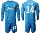 Cheap Juventus #14 Matuidi Third Long Sleeves Soccer Club Jersey